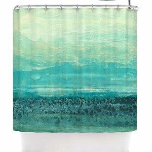 Iris Lehnhardt Oceanic Shower Curtain East Urban Home