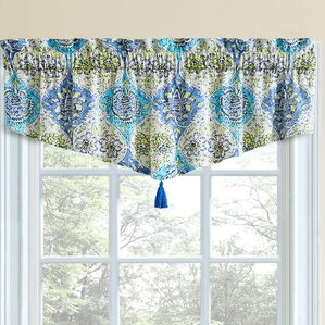waverly valances & kitchen curtains you'll love | wayfair