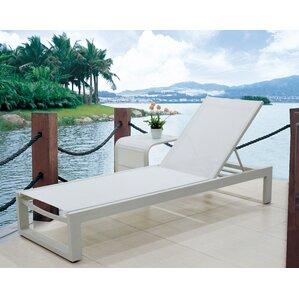 branchville premium outdoor texilene chaise lounge set of 2
