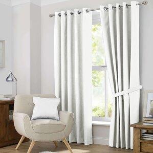 Douglas Solid Blackout Curtain Panels (Set Of 2)