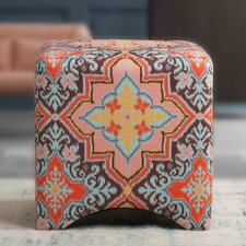 Isaac Accent Cube Ottoman by Jennifer Taylor