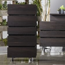 Callie Spring 5 Drawer Chest by Wade Logan