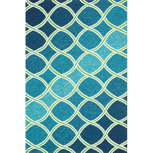 Elegant Loloi Rugs Venice Beach Handmade Blue/Green Indoor/Outdoor Area Rug U0026  Reviews | Wayfair