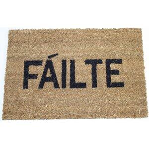 Message Failte Doormat