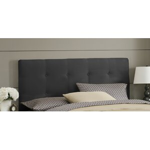 Double Button Tufted Upholstered Panel Headboard by Skyline Furniture