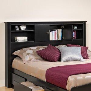 Kallisto Bookcase Headboard by Prepac