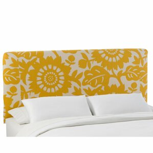 Slip Cover Gerber Upholstered Panel Headboard by Skyline Furniture