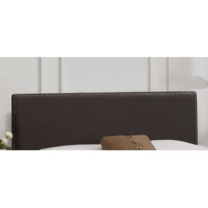 Nail Button Linen Upholstered Panel Headboard by Skyline Furniture