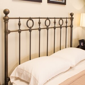 Marksburg Slat Headboard by Benicia Foundry and Iron Works