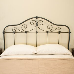 Chardonnay Slat Headboard by Benicia Foundry and Iron Works