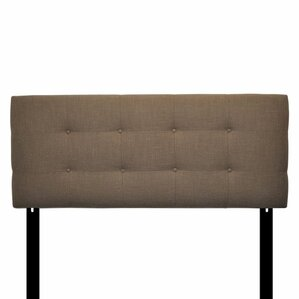 Ali Eastern King Upholstered Panel Headboard by Sole Designs