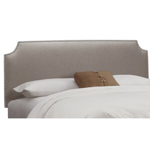 Cyd Nail Button Upholstered Panel Headboard by House of Hampton