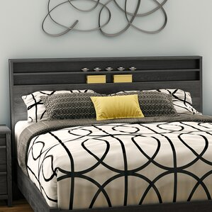 Tao Queen Bookcase Headboard by South Shore
