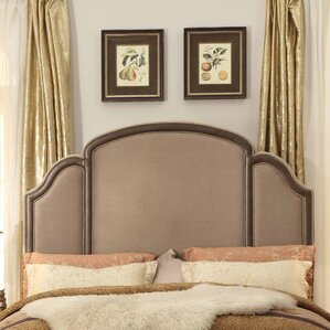Ricca Queen Upholstered Panel Headboard by Mulhouse Furniture