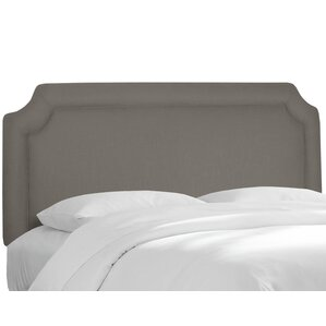 Twill Notched Upholstered Panel Headboard by Alcott Hill®