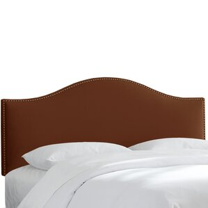 Regal Upholstered Panel Headboard by Beachcrest Home