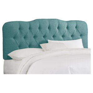 Brigitte Handcrafted Tufted Upholstered Panel Headboard by House of Hampton