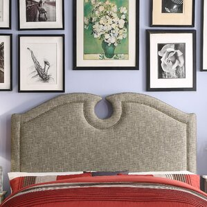 Eilo Queen Upholstered Panel Headboard by Mulhouse Furniture