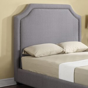 Ripley Upholstered Panel Headboard by Darby Home Co®