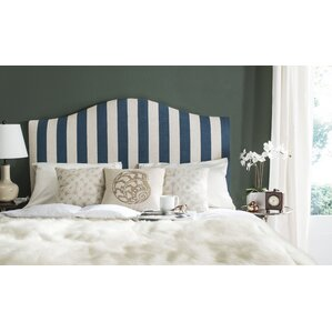 Albyn Upholstered Panel Headboard by Charlton Home®