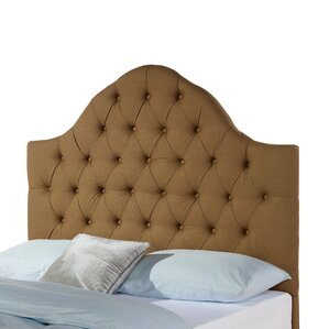 Cuthbert Upholstered Panel Headboard by House of Hampton