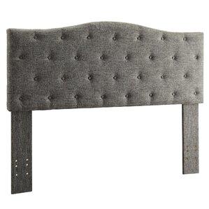 Queen Upholstered Panel Headboard by WorldWide HomeFurnishings