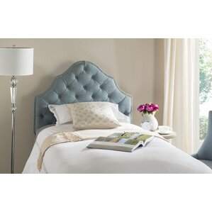 Lily Pond Upholstered Panel Headboard by House of Hampton