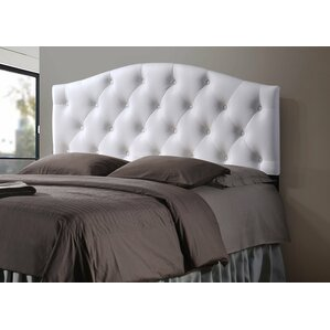 Baxton Studio Sara Queen Upholstered Panel Headboard by Wholesale Interiors