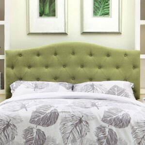 Scarcly Upholstered Panel Headboard by Charlton Home®