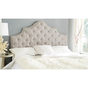 Winchcombe Upholstered Panel Headboard by House of Hampton