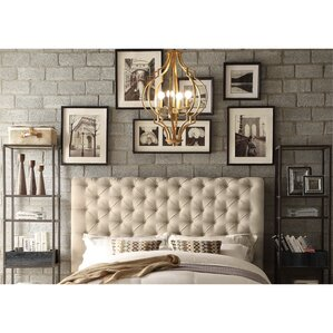 Calia Tufted Upholstered Panel Headboard by Mulhouse Furniture