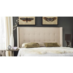 Yale Upholstered Wingback Headboard by Darby Home Co®