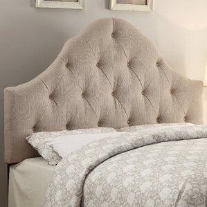 Rendville Curved B/T Queen Panel Headboard by Darby Home Co®
