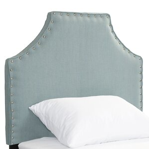 Caryville Upholstered Panel Headboard by Beachcrest Home