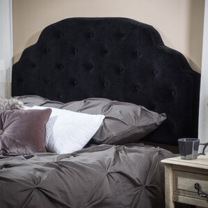 Lyssa Queen Upholstered Panel Headboard by Home Loft Concepts