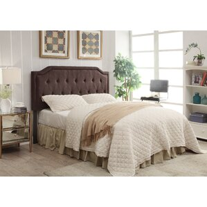 Stony Point Upholstered Panel Headboard by Three Posts