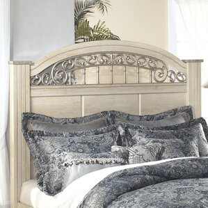 Johnby Panel Headboard by Astoria Grand