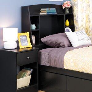 Bailey Twin Bookcase Headboard by Viv + Rae