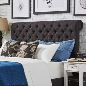 Oliver King Upholstered Panel Headboard by Three Posts
