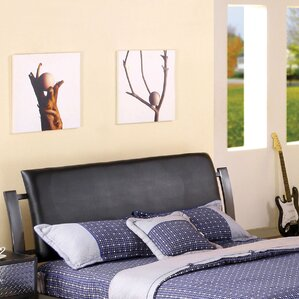 Rubin Upholstered Sleigh Headboard by Mercury Row®