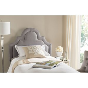 Kerstin Twin Upholstered Panel Headboard by Safavieh
