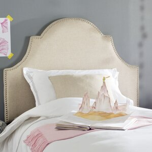 Cardella Upholstered Panel Headboard by Darby Home Co®