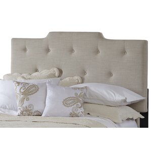 All-N-One Queen Upholstered Panel Headboard by PRI