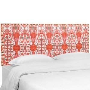 Alaoui Upholstered Panel Headboard by Bungalow Rose