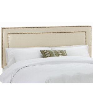 Waco Nail Button Upholstered Panel Headboard by Mercer41