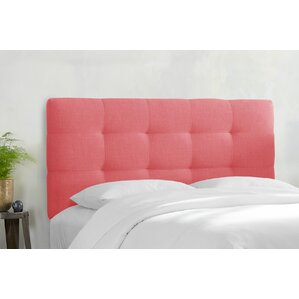 Berlin Upholstered Panel Headboard by Latitude Run