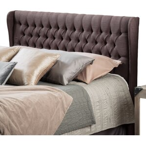 Coffman Queen Upholstered Wingback Headboard by Home Loft Concepts