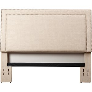 Bethel Upholstered Panel Headboard by Three Posts