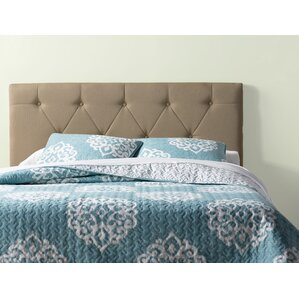 Bernise Upholstered Panel Headboard by Three Posts
