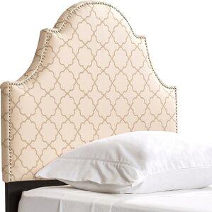 Ricardo Twin Upholstered Panel Headboard by Viv + Rae On sale